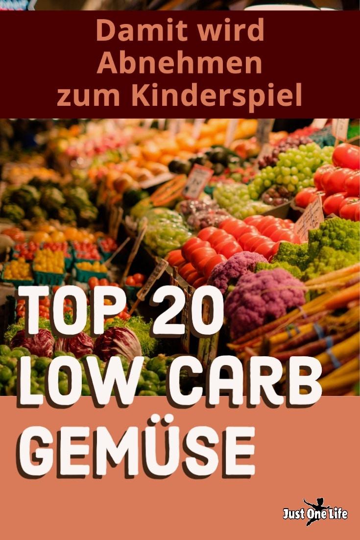 TOP 20 Low Carb Gemüse von A bis Z - Damit wird Abnehmen zum Kinderspiel