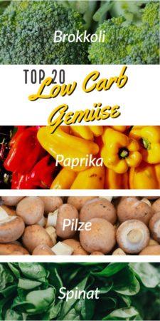 Top 20 Low Carb Gemüse
