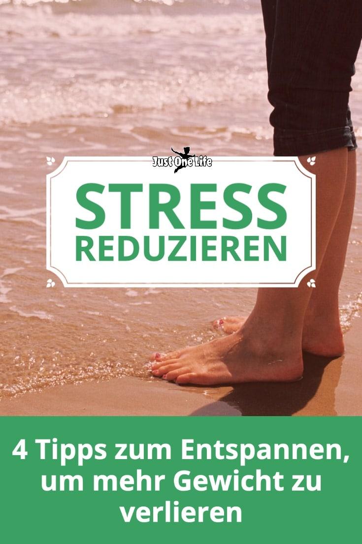 Wie du Stress reduzieren kannst, um Gewicht zu verlieren