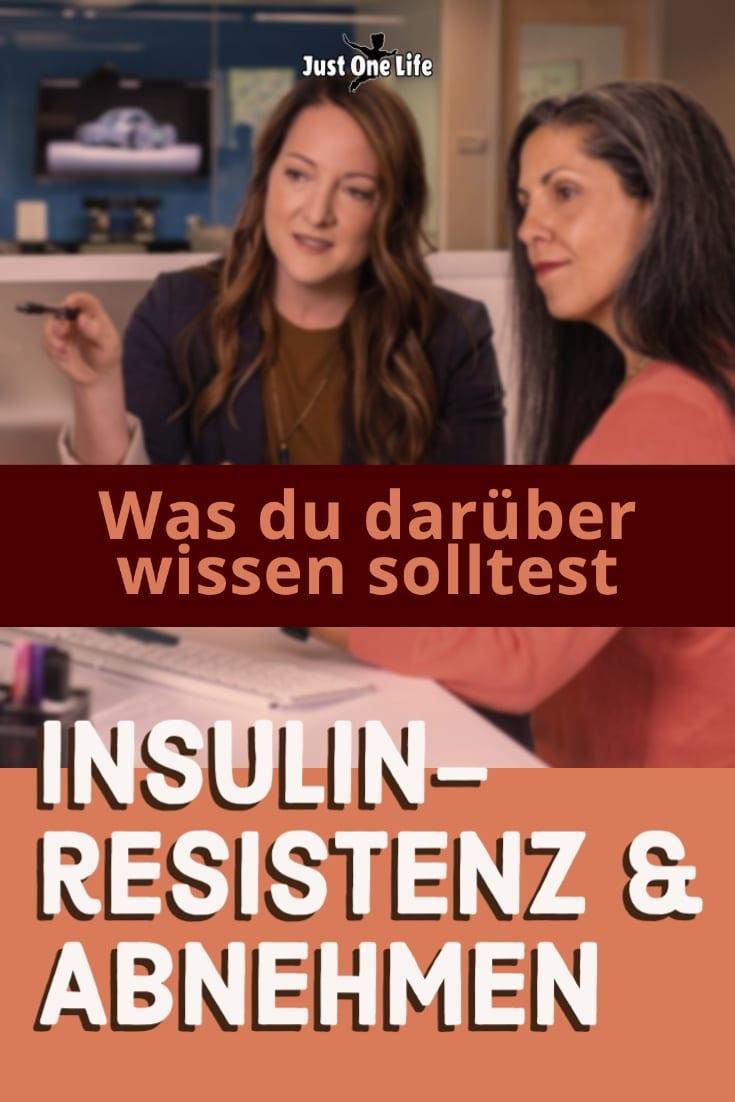 Insulinresistenz & Abnehmen: Was du darüber wissen solltest