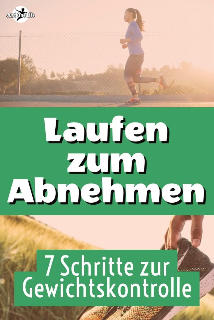 Laufen zum Abnehmen - 7 Schritte zur Gewichtskontrolle