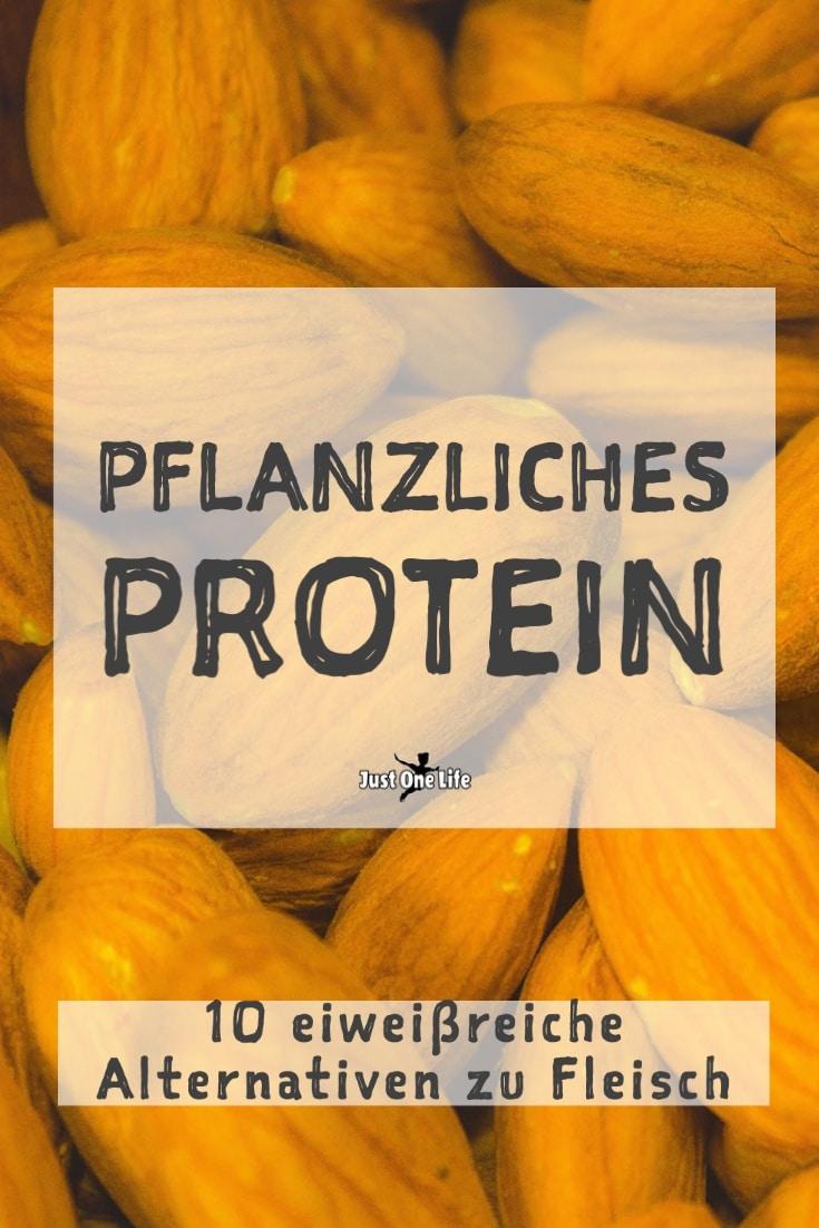 Pflanzliches Protein - 10 eiweißreiche Alternativen zu Fleisch