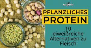 Pflanzliches Protein - 10 eiweißreiche Proteinquellen