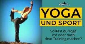 Yoga und Sport - 5 Tipps